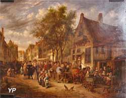 Scène de rue (Gillis de Winter, XVIIe s.)