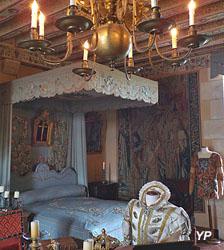 Château de Montpoupon - chambre du Roi