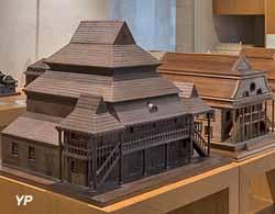 Maquettes de synagogues