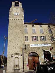 Tour de l'horloge et Office de tourisme