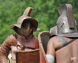 Gladiateurs à Vita Romana (Conseil départemental de la Moselle)