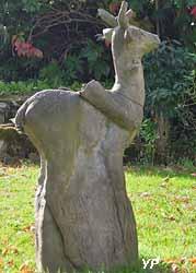 Sculpture (C. Stahlschmidt) (Maison d'Art)