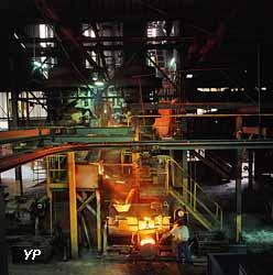 Fonderie de l'usine Godin