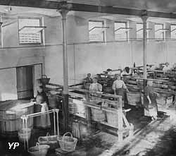 La buanderie du Familistère en 1901
