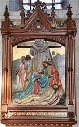Chemin de Croix - XIII Jésus est descendu de la croix et son corps est rendu à sa mère