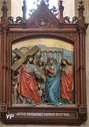 Chemin de Croix - 4 Jésus rencontre sa mère
