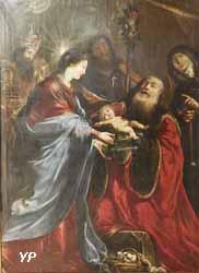 La présentation au temple (Claude Vignon, 1653) - chapelle Saint-Louis