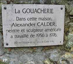 La Gouacherie - atelier de Peinture de Calder
