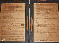 Règlement du foyer des étudiants qui date de 1624