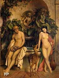 L'innocence, Daphnis et Chloé (Jean-Léon Gérôme)