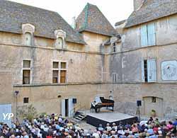 Concert dans la cour d'honneur