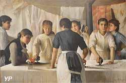 Les Blanchisseuses (Marie-Louise Petiet)