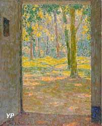 Porte Ouverte (Henri Le Sidaner)