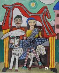 Le tombeau étrusque (Alain Lacoste)