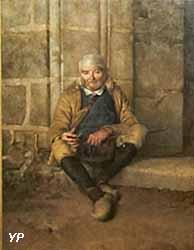 Le vieux Mendiant breton (Flavien-Louis Peslin, collections permanentes)