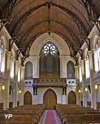 Église luthérienne Saint-Jean - nef et orgue Cavaillé-Coll Mutin