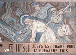 Église Saint-Martin - Chemin de Croix, 3e station