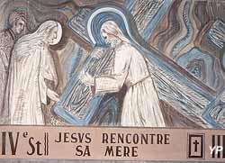 Église Saint-Martin - Chemin de Croix, 4e station