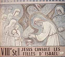 Église Saint-Martin - Chemin de Croix, 8e station