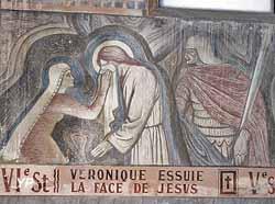 Église Saint-Martin - Chemin de Croix, 6e station