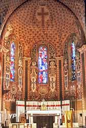 Église Saint-Martin - Choeur (Amis du Patrimoine Bichancourtois)