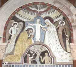Église Saint-Martin - la Sainte Famille et Adam et Ève