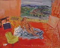 Nu dans l'atelier (Raoul Dufy) (Ville de Roanne/ Musée Déchelette)