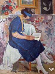 La lecture (Jean Puy)