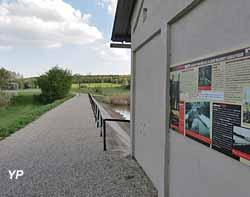 Digue de l'étang de Hoste-Bas - Ligne Maginot aquatique