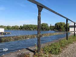 Digue de l'étang de Hoste-Bas - Ligne Maginot aquatique (P. Keuer)