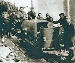 Mineurs d'Oris-en-Rattier (Association Roizonne à la Recherche du Temps Passé)
