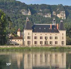 Château de Vertrieu (château neuf) (I. de Laroullière)