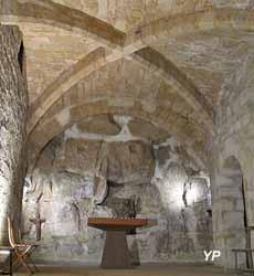 Chapelle souterraine du Presbytère (Ville de Pontoise)