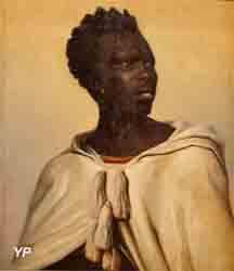 Tête d'Ethiopien (Paul Félix Guérie)