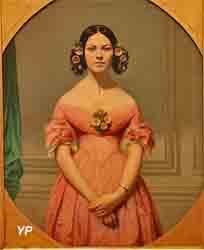 Portrait de mademoiselle Isaure Chasseriau (Eugène Amaury-Duval)