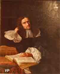 Portrait d'homme, assis à sa table de travail (Madeleine Herault-Coypel)