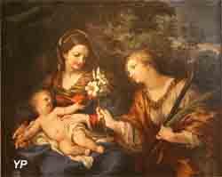 La Vierge, l'Enfant Jésus et sainte Martine (Pierre de Cortone)