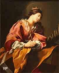 Sainte Catherine (Nicolas Labbé ou Antoine Viry)