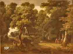 Paysage avec une offrande au Dieu Pan (Jean-Victor Bertin)