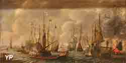 Bataille de Gibraltar (Andries van Eertvelt)
