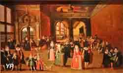 Bal sous Henri IV (Louis de Caulery)