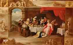Le Repas chez Simon (Frans Francken II)