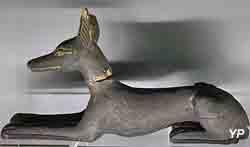 Anubis, gardien de la tombe d'Osiris