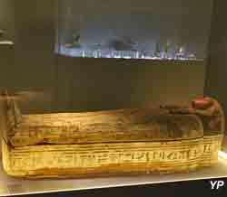 Sarcophage de la chanteuse d'Amon Di-Aset-iaou
