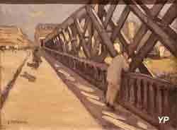 Le pont de l'Europe (Gustave Caillebotte)