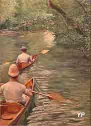 Périssoires (Gustave Caillebotte)