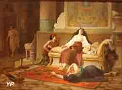 La mort de Cléopâtre (Louis-Marie Baader)