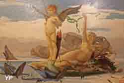 Eros et Aphrodite (Edouard Toudouze)