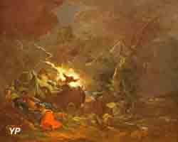 Voyageurs surpris par l'orage (François Joseph Casanova)