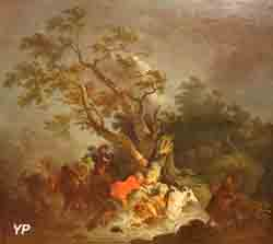 Scène d'ouragan (François Joseph Casanova)